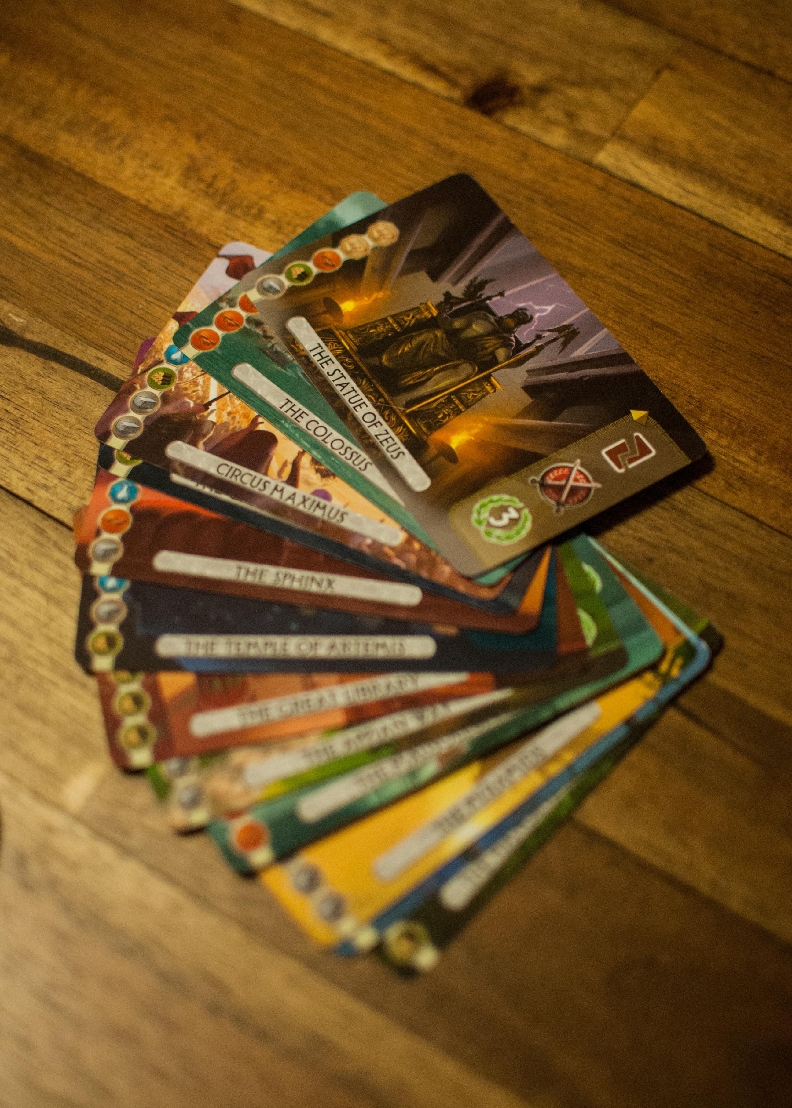 7 Wonders Duel Wonder Cards