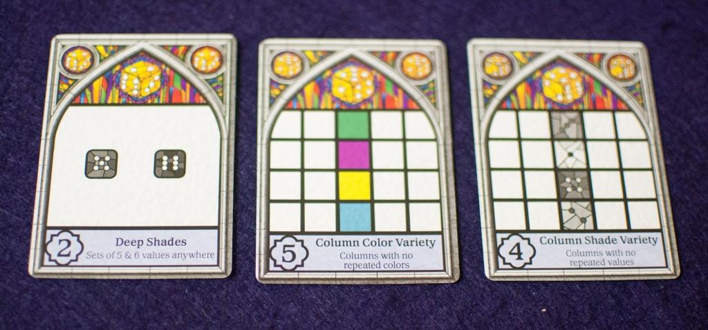 Sagrada Objective Cards
