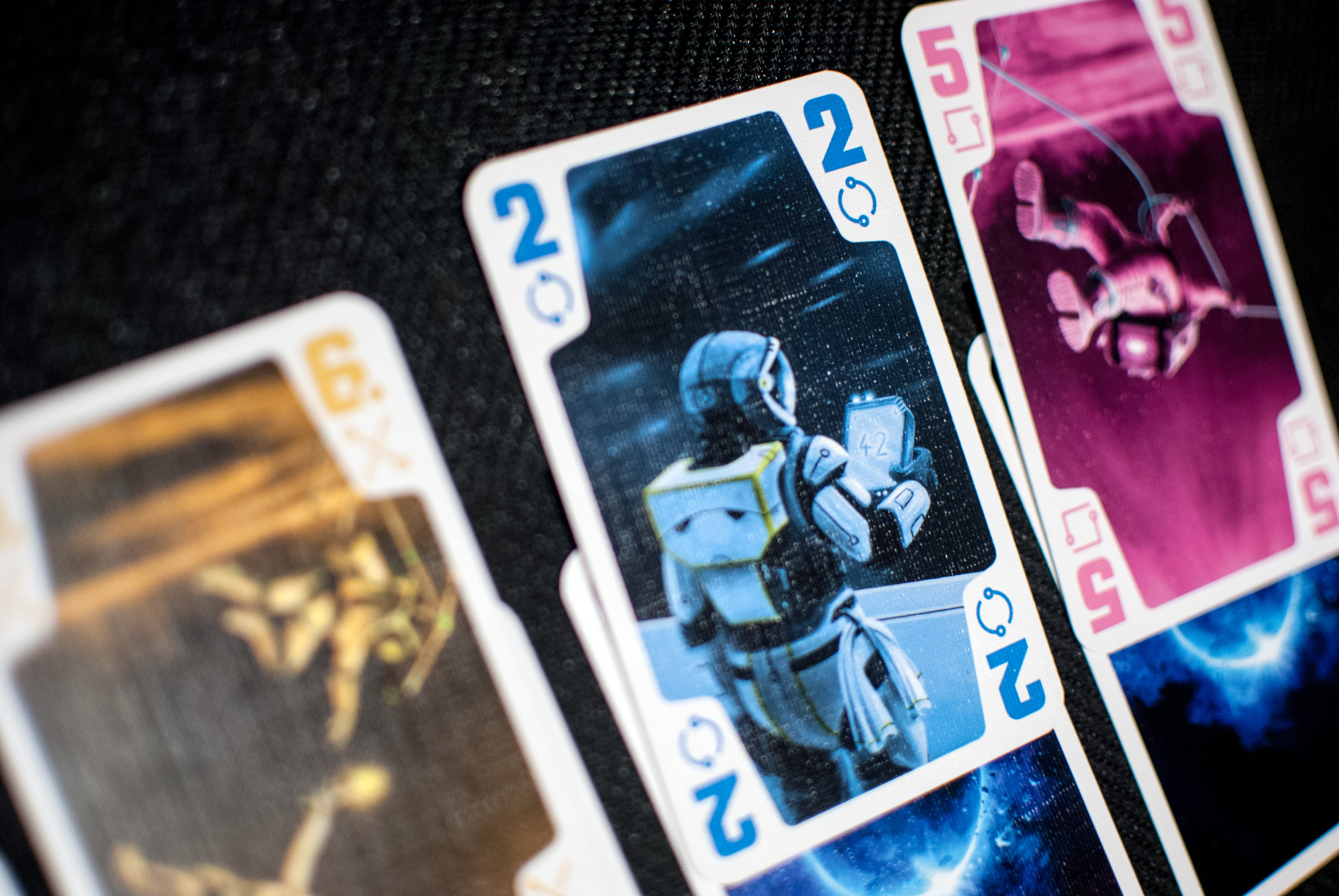 The Crew Game Cards