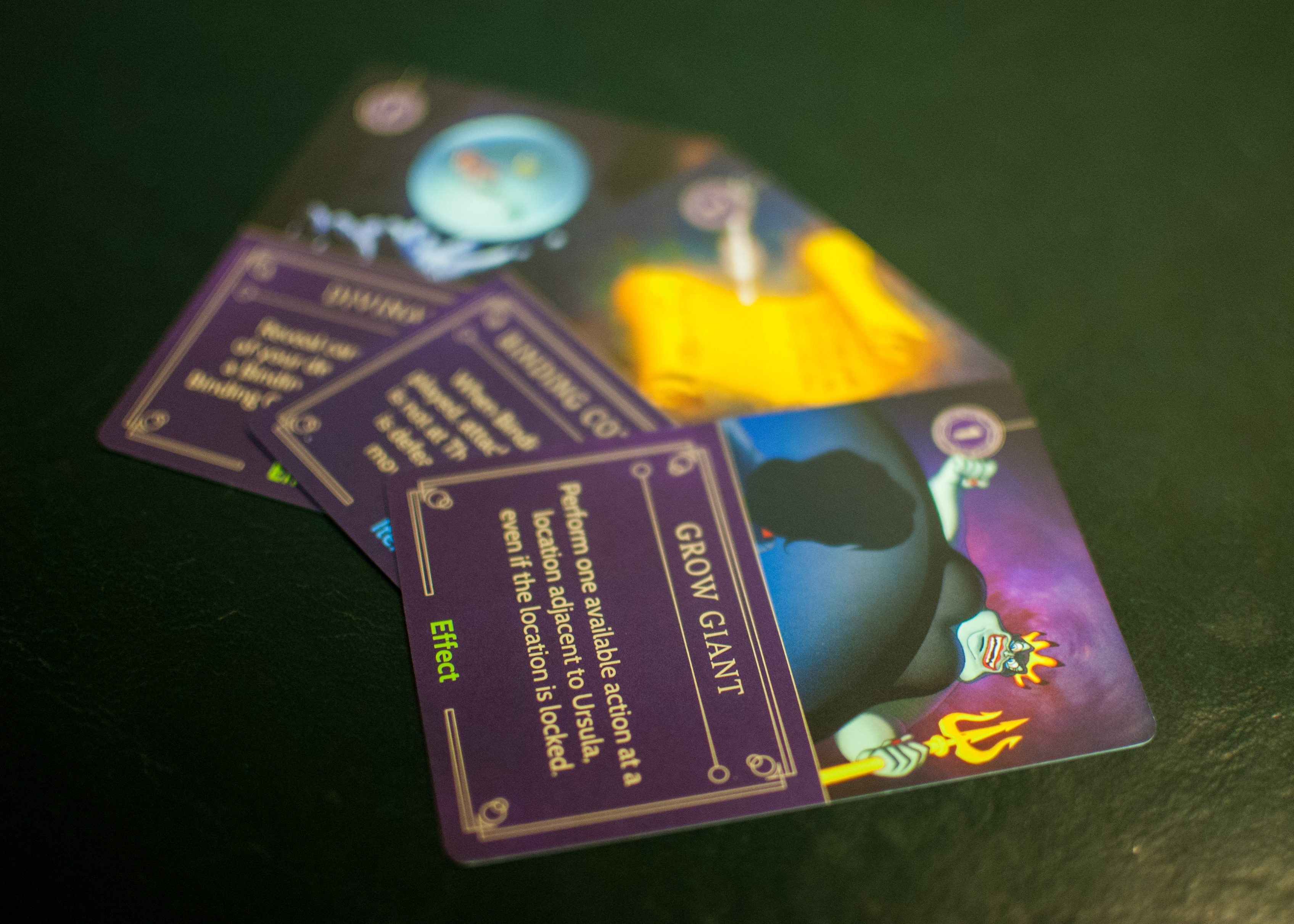 Disney Villainous Villain Cards